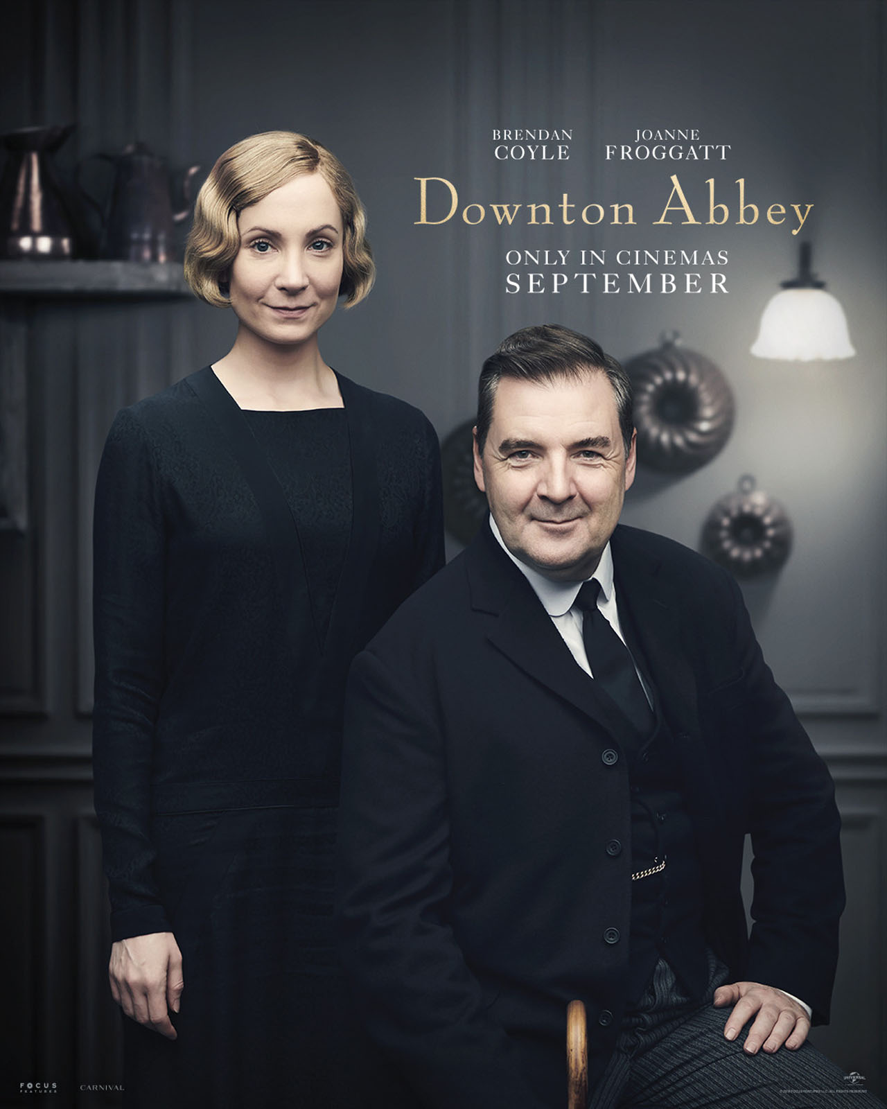 Downton Abbey The Movie Character Posters Mr and Mrs Bates