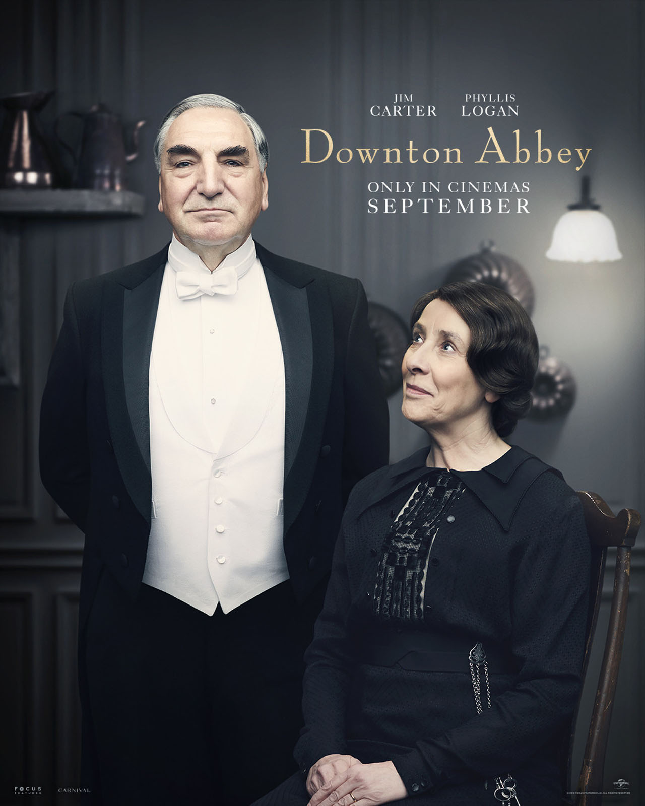 Downton Abbey The Movie Character Posters Mr and Mrs Carson