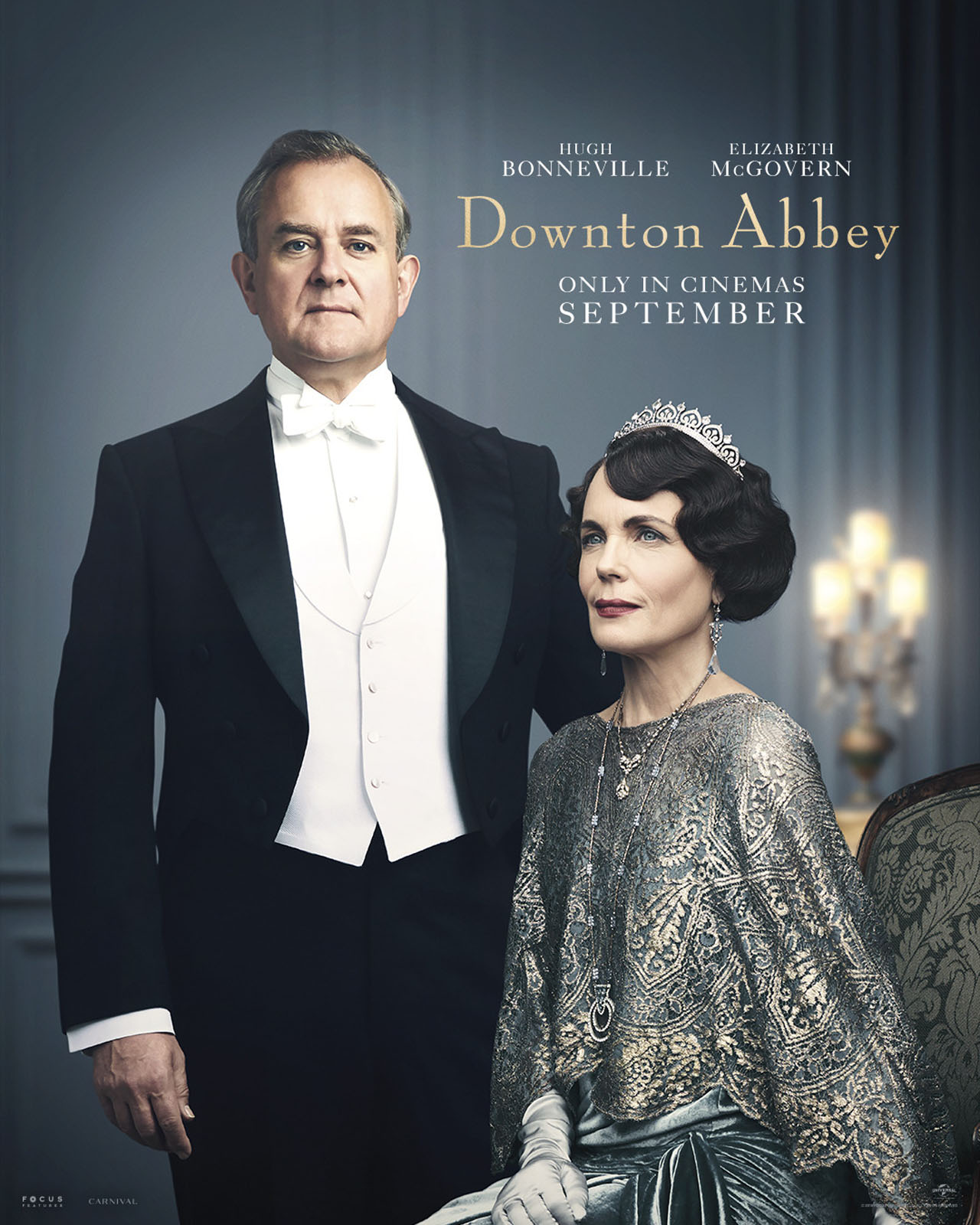 Downton Abbey The Movie Character Posters Robert and Cora Crawley