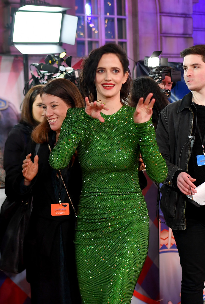 Eva Green Disney Dumbo European Premiere London