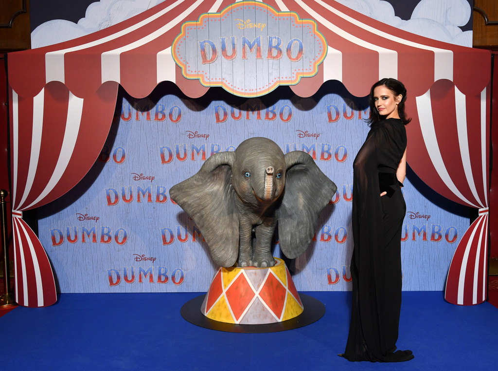 Eva Green Disney Dumbo Paris Screening France