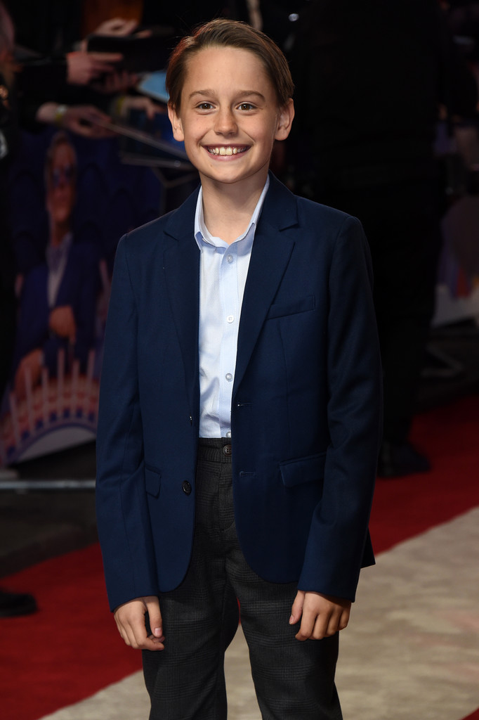 Finley Hobbins Disney Dumbo European Premiere London