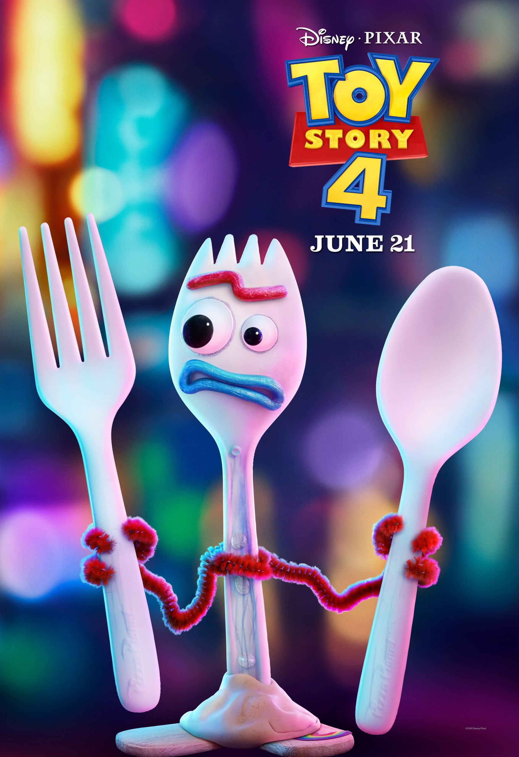 Forky Toy Story 4 Character Posters