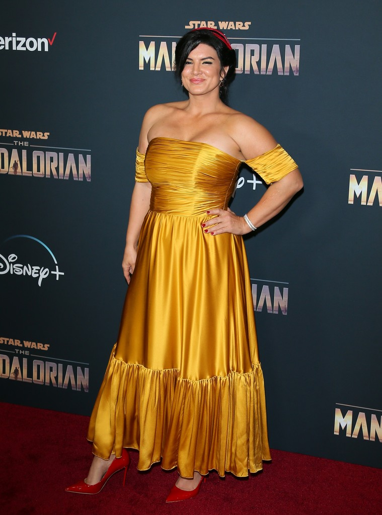 Gina Carano The Mandalorian Disney+ World Premiere Hollywood Los Angeles