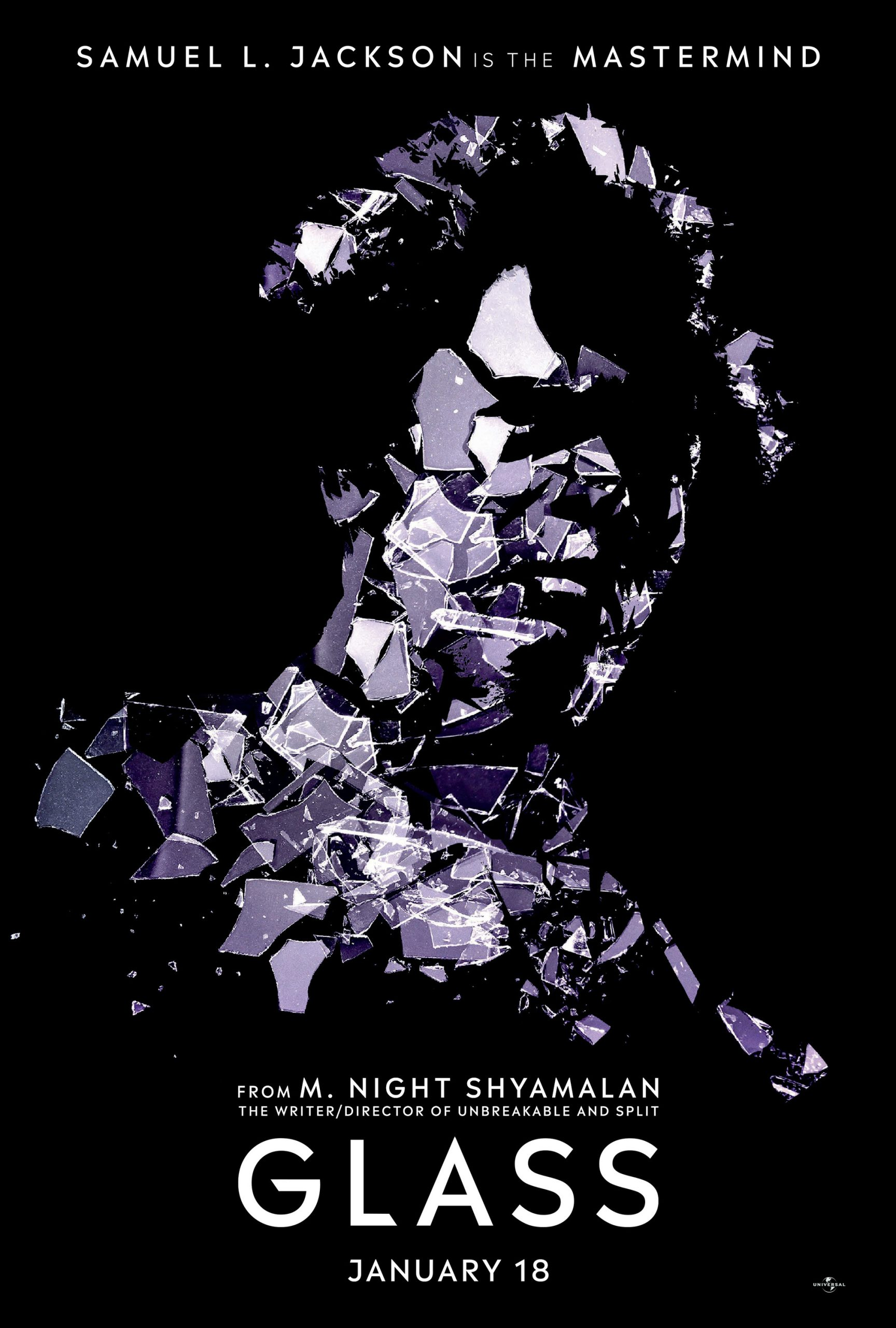 Glass Character Posters Samuel L Jackson is the Mastermind