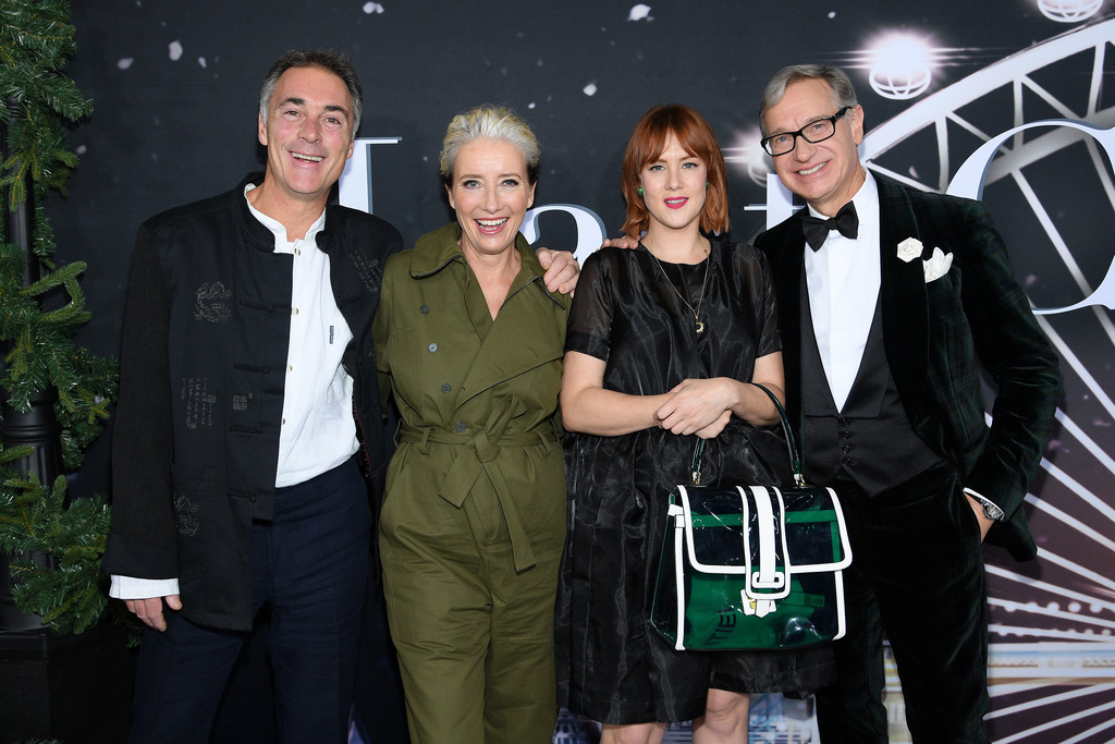 Greg Wise, Emma Thompson, Bryony Kimmings and Paul Feig Last Christmas New York City Premiere