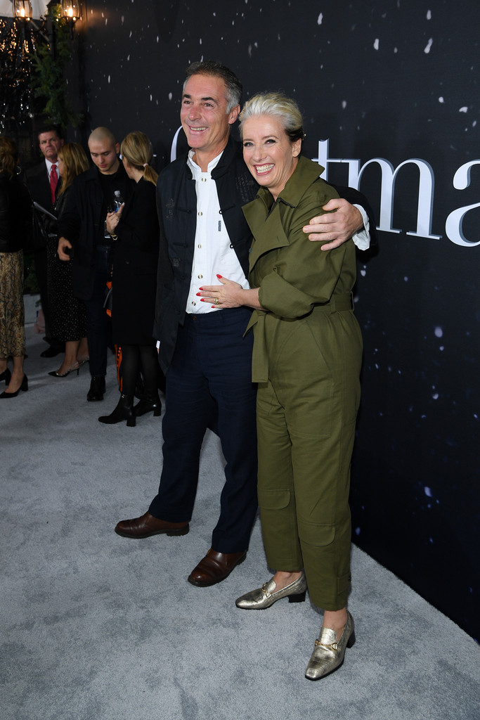 Greg Wise and Emma Thompson Last Christmas New York City Premiere