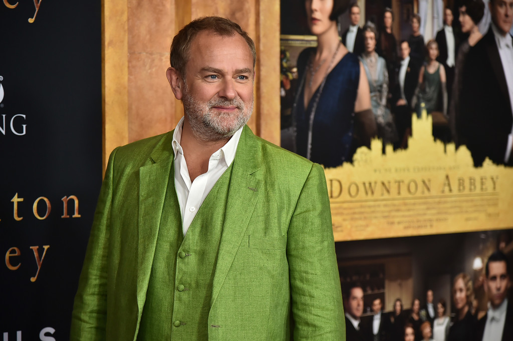 Hugh Bonneville Downton Abbey New York City Premiere