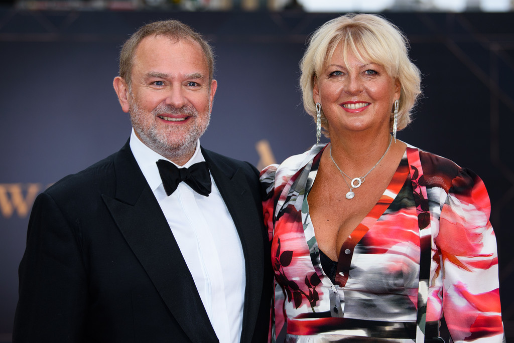 Hugh Bonneville and Lulu Williams Downton Abbey World Premiere London