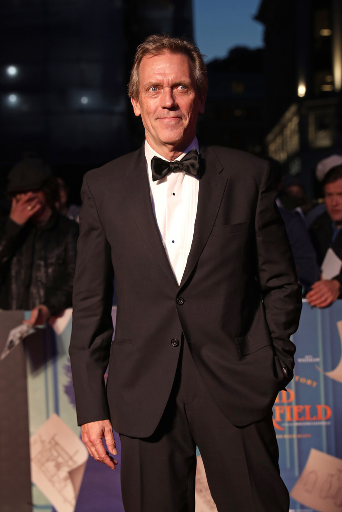 Hugh Laurie The Personal History of David Copperfield European Premiere BFI London Film Festival 2019 London Arrivals