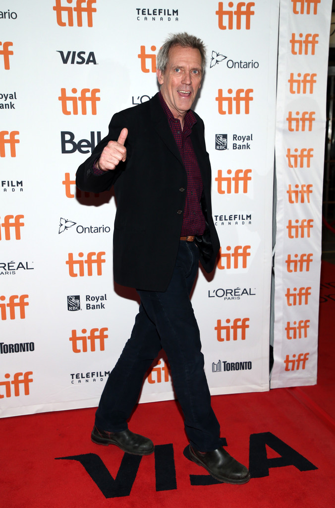 Hugh Laurie The Personal History of David Copperfield Toronto International Film Festival Premiere TIFF 2019