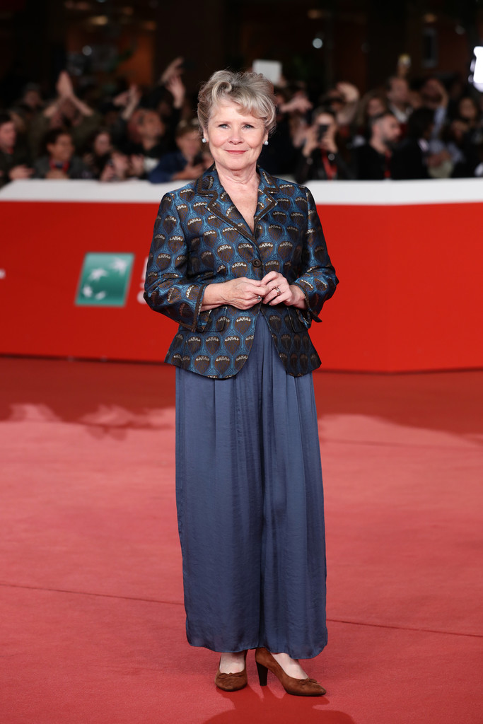 Imelda Staunton Downton Abbey Rome Premiere 14th Rome Film Festival 2019 Arrivals