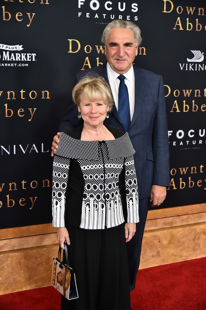 Imelda Staunton and Jim Carter Downton Abbey New York City Premiere
