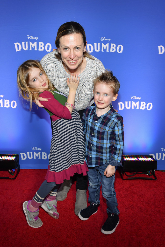 Jayna Hefford and family Disney Dumbo Canadian Premiere Toronto