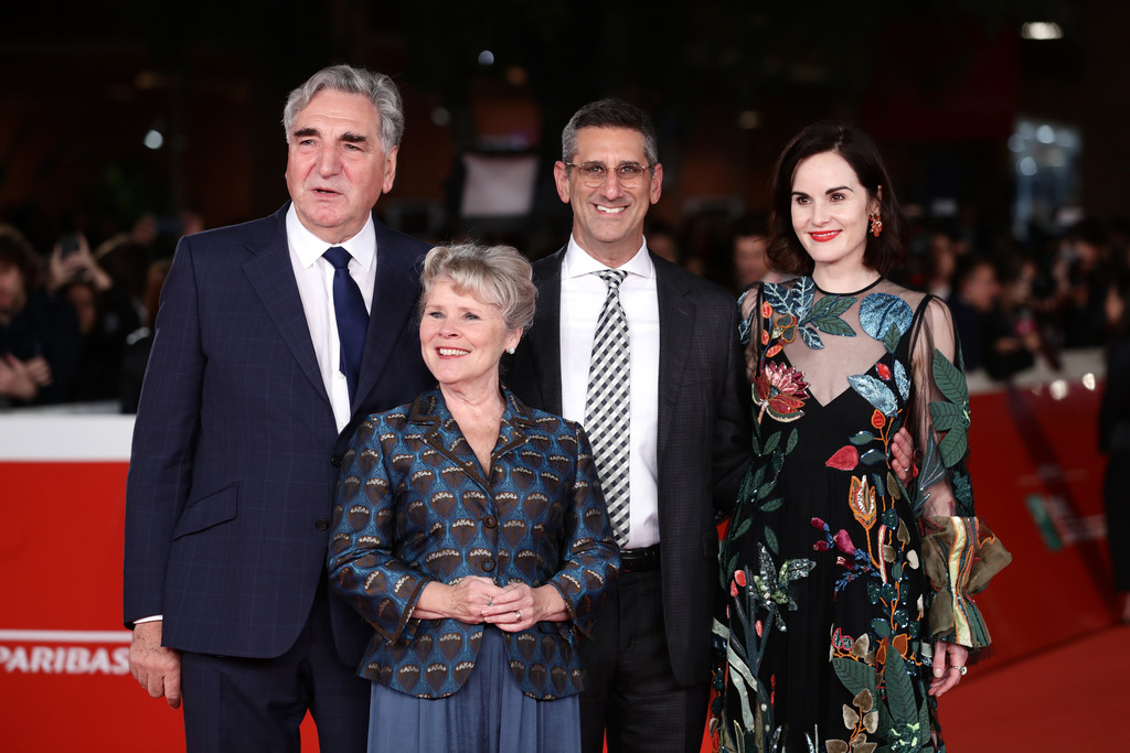 Jim Carter, Imelda Staunton, Michael Engler and Michelle Dockery Downton Abbey Rome Premiere 14th Rome Film Festival 2019 Arrivals