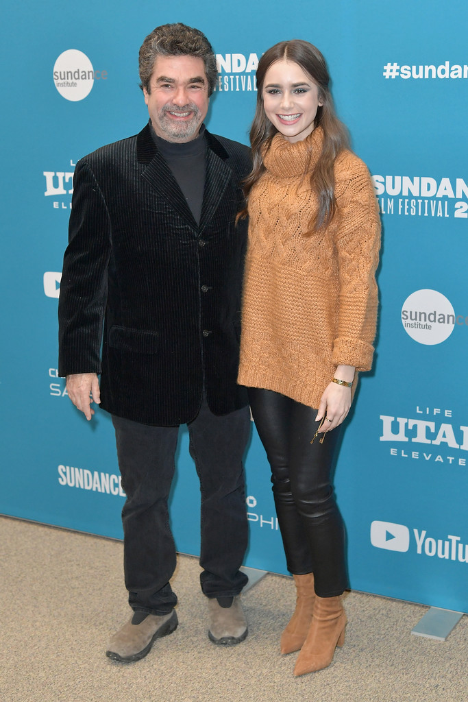 Joe Berlinger and Lily Collins Extremely Wicked Shockingly Evil and Vile Premiere 2019 Sundance Film Festival