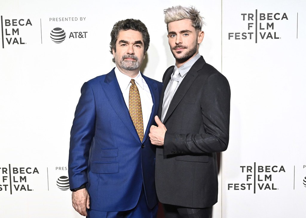 Joe Berlinger and Zac Efron Extremely Wicked Shockingly Evil and Vile Tribeca Film Festival Premiere New York City