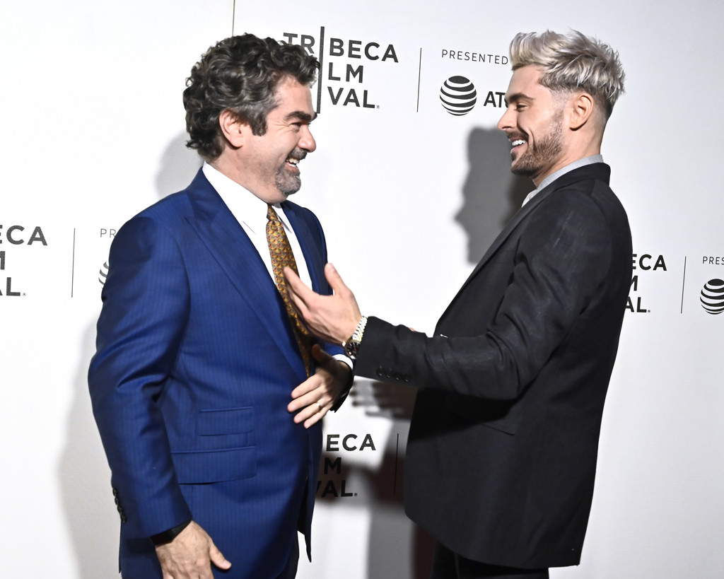Joe Berlinger and Zac Efron Extremely Wicked Shockingly Evil and Vile Tribeca Film Festival Premiere New York City Arrivals