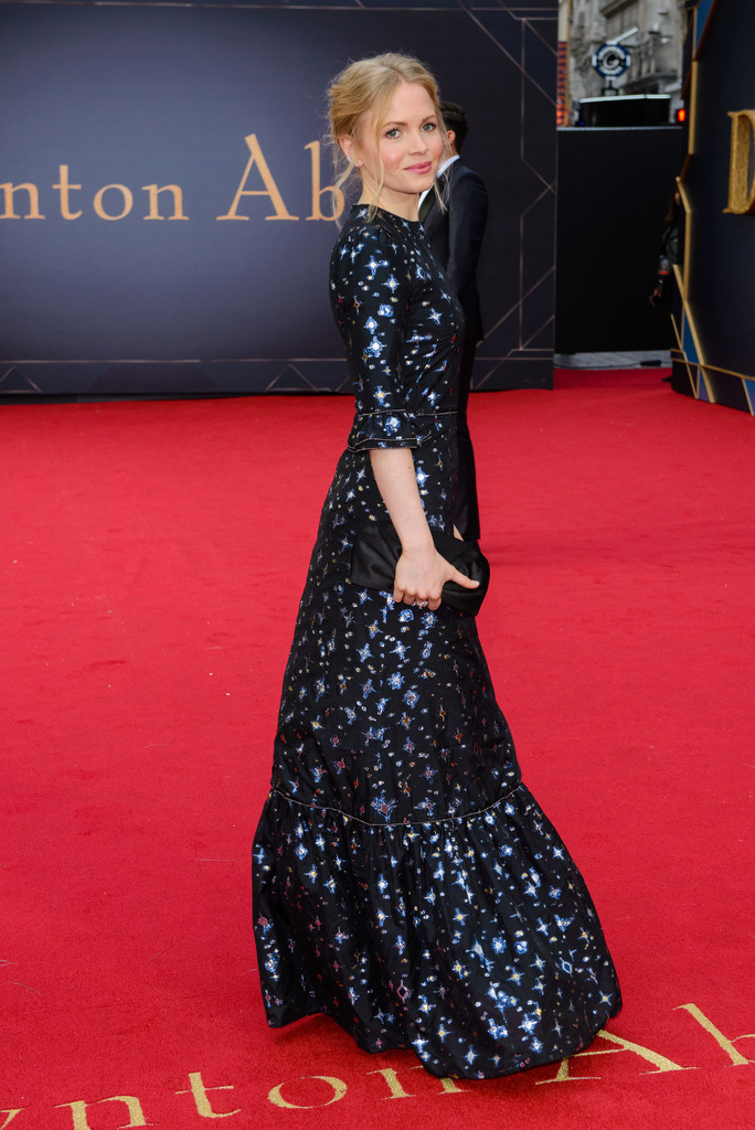 Kate Phillips Downton Abbey World Premiere London