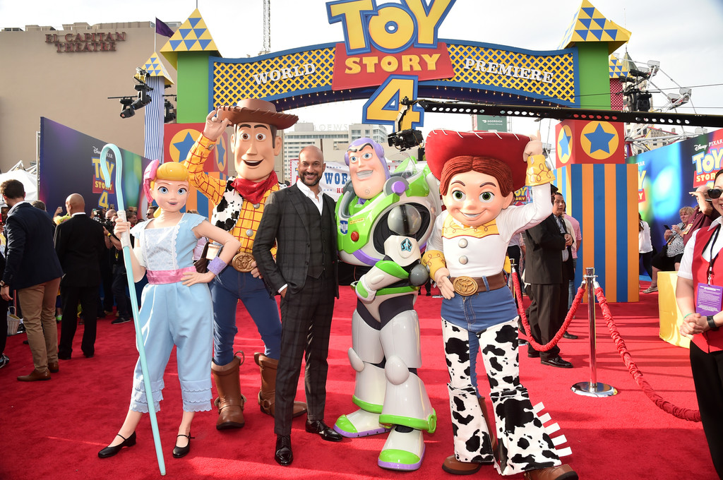 Keegan-Michael Key Toy Story 4 Los Angeles Premiere Hollywood
