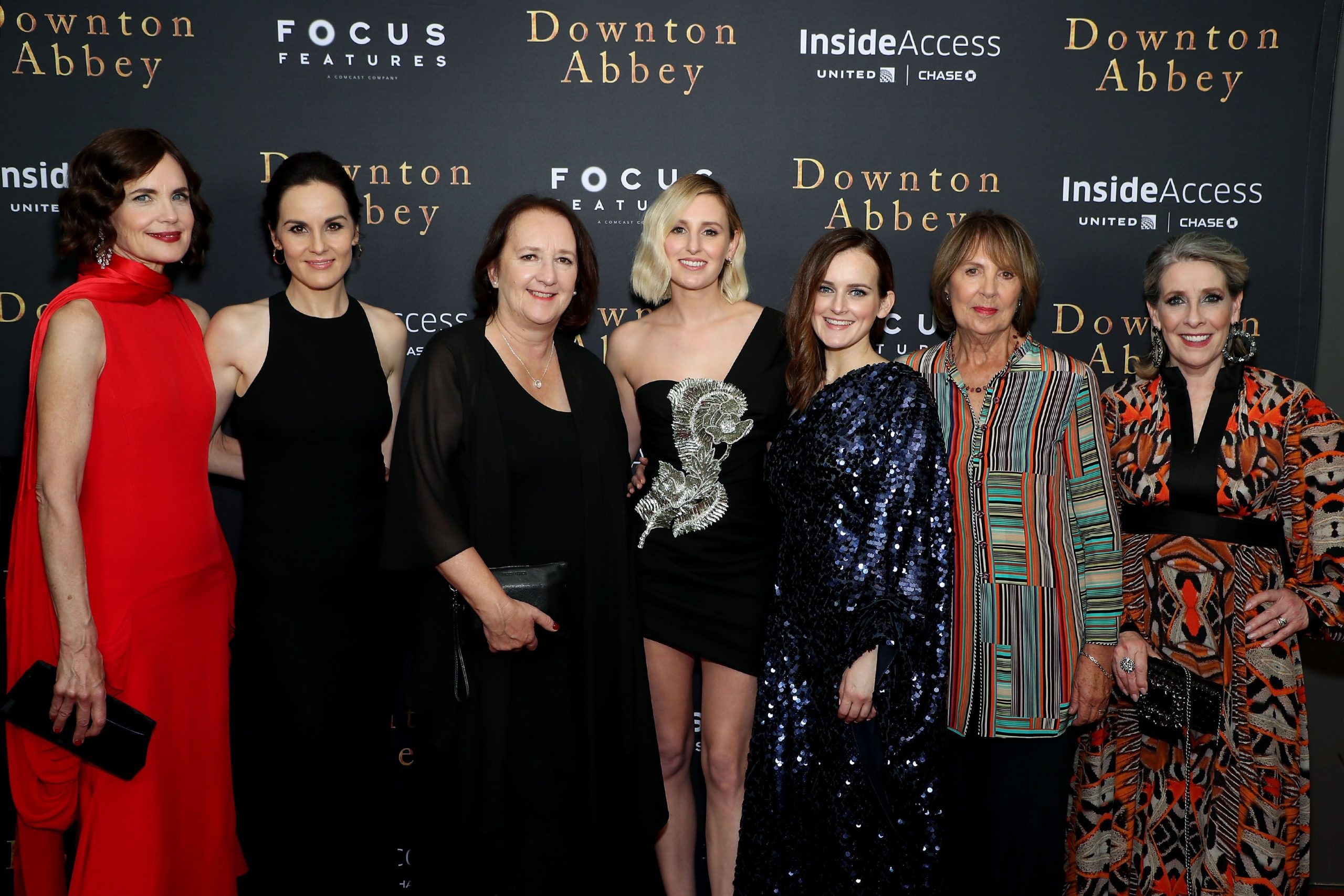 Ladies of Downton Abbey New York City Movie Premiere