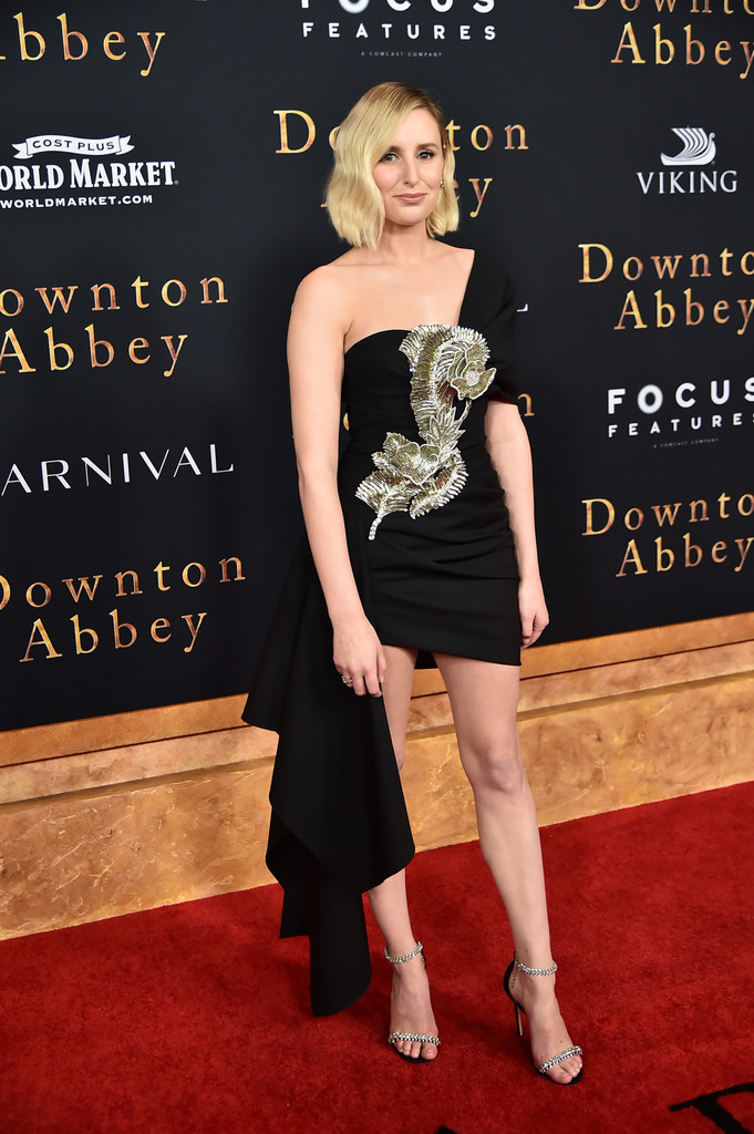 Laura Carmichael Downton Abbey New York City Premiere