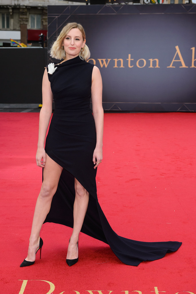 Laura Carmichael Downton Abbey World Premiere London