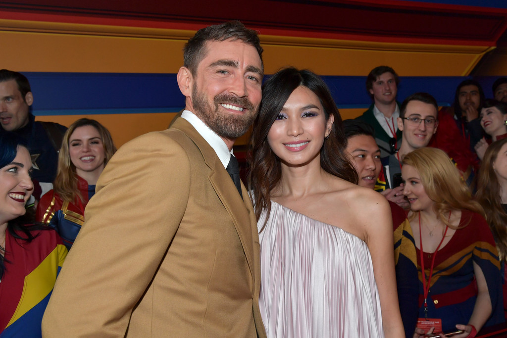 Lee Pace and Gemma Chan Captain Marvel Hollywood Premiere Los Angeles Arrivals