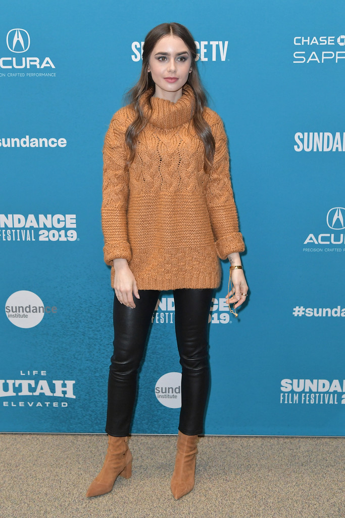 Lily Collins Extremely Wicked Shockingly Evil and Vile Premiere 2019 Sundance Film Festival