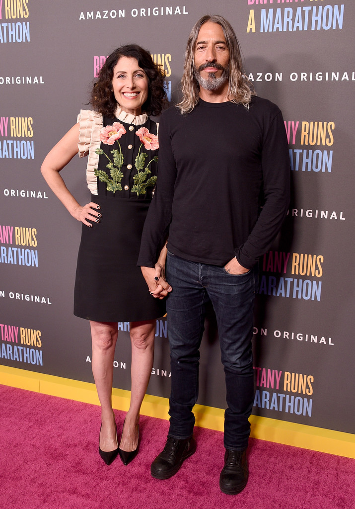 Lisa Edelstein and Robert Russell Brittany Runs a Marathon Los Angeles Premiere
