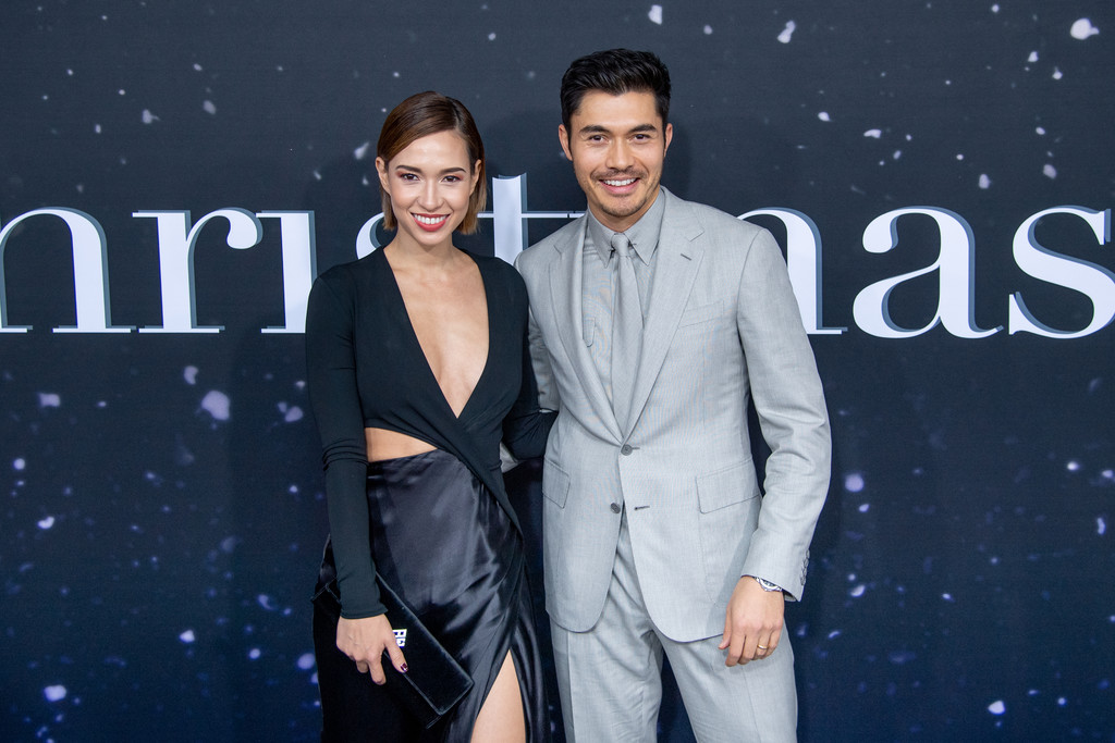 Liv Lo and Henry Golding Last Christmas New York City Premiere