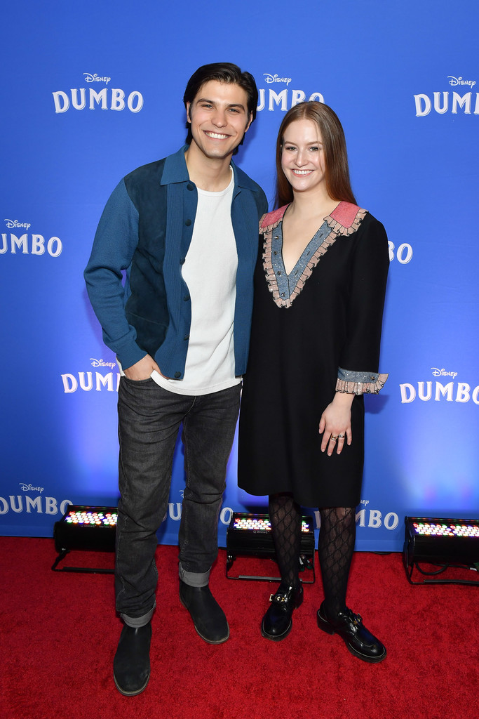 Luke Bilyk and Kyla Young Disney Dumbo Canadian Premiere Toronto