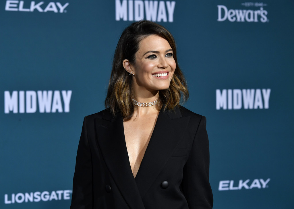 Mandy Moore Midway Hollywood Premiere Los Angeles