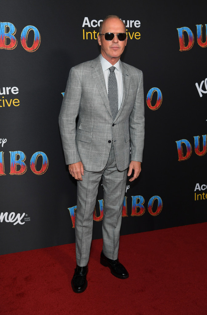 Michael Keaton Disney Dumbo Los Angeles Premiere