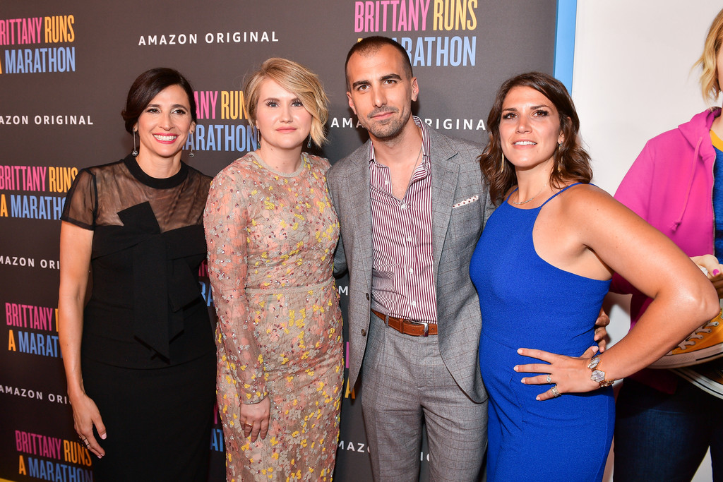 Michaela Watkins, Jillian Bell, Paul Downs Colaizzo and Brittany O'Neill Brittany Runs a Marathon Los Angeles Premiere