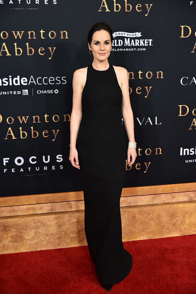 Michelle Dockery Downton Abbey New York City Premiere