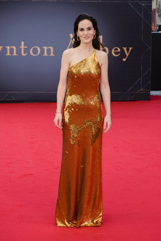 Michelle Dockery Downton Abbey World Premiere London