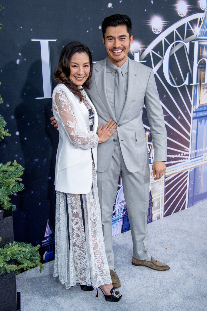 Michelle Yeoh and Henry Golding Last Christmas New York City Premiere