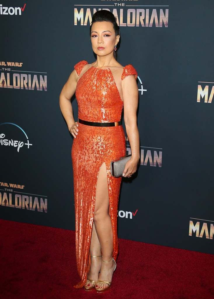 Ming-Na Wen The Mandalorian Disney+ World Premiere Hollywood Los Angeles
