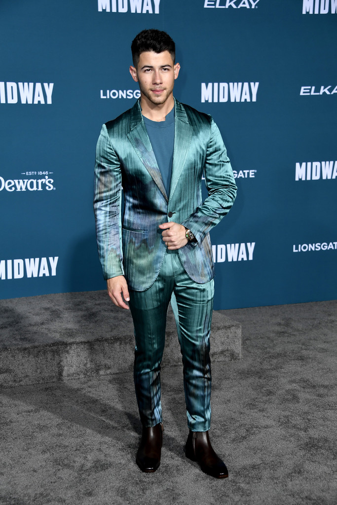 Nick Jonas Midway Hollywood Premiere Los Angeles
