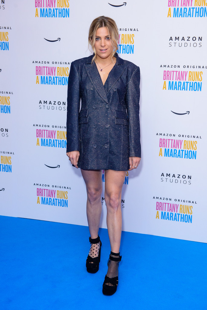 Olivia Cox Brittany Runs a Marathon UK Film Premiere London