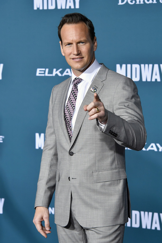 Patrick Wilson Midway Hollywood Premiere Los Angeles