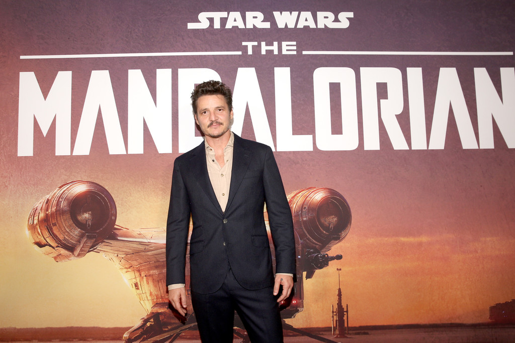 Pedro Pascal The Mandalorian Disney+ World Premiere Hollywood Los Angeles