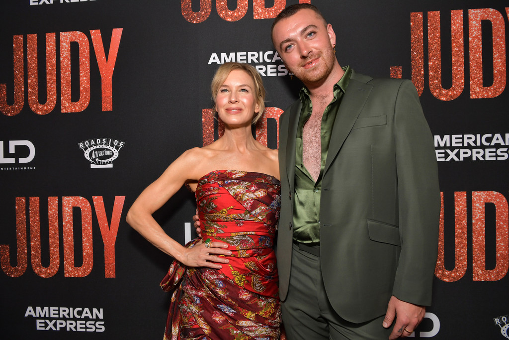 Renee Zellweger and Sam Smith Judy Premiere Los Angeles