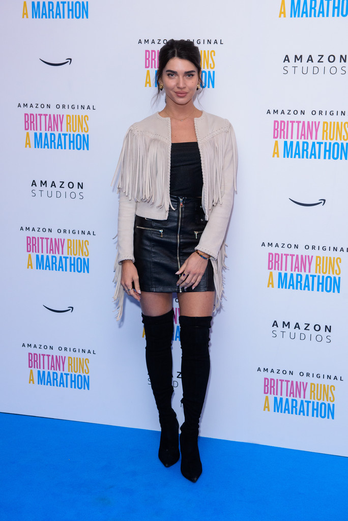 Scarlett Mellish Wilson Brittany Runs a Marathon UK Film Premiere London