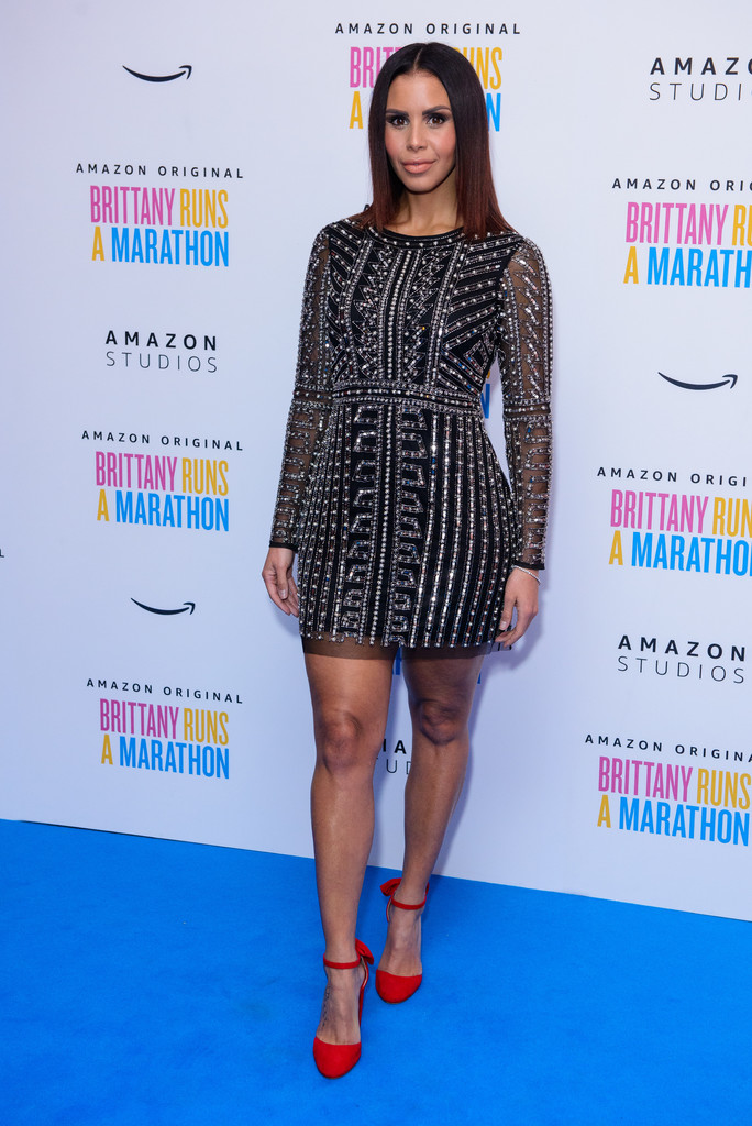 Shanie Ryan Brittany Runs a Marathon UK Film Premiere London
