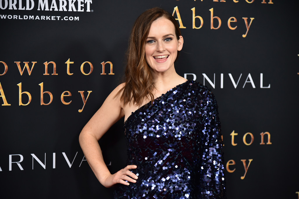 Sophie McShera Downton Abbey New York City Premiere