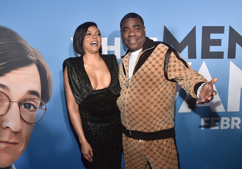 Taraji P Henson and Tracy Morgan What Men Want Los Angeles Premiere Arrivals