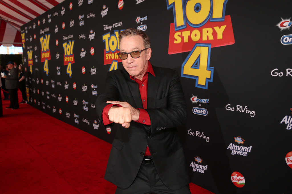 Tim Allen Toy Story 4 Los Angeles Premiere Hollywood