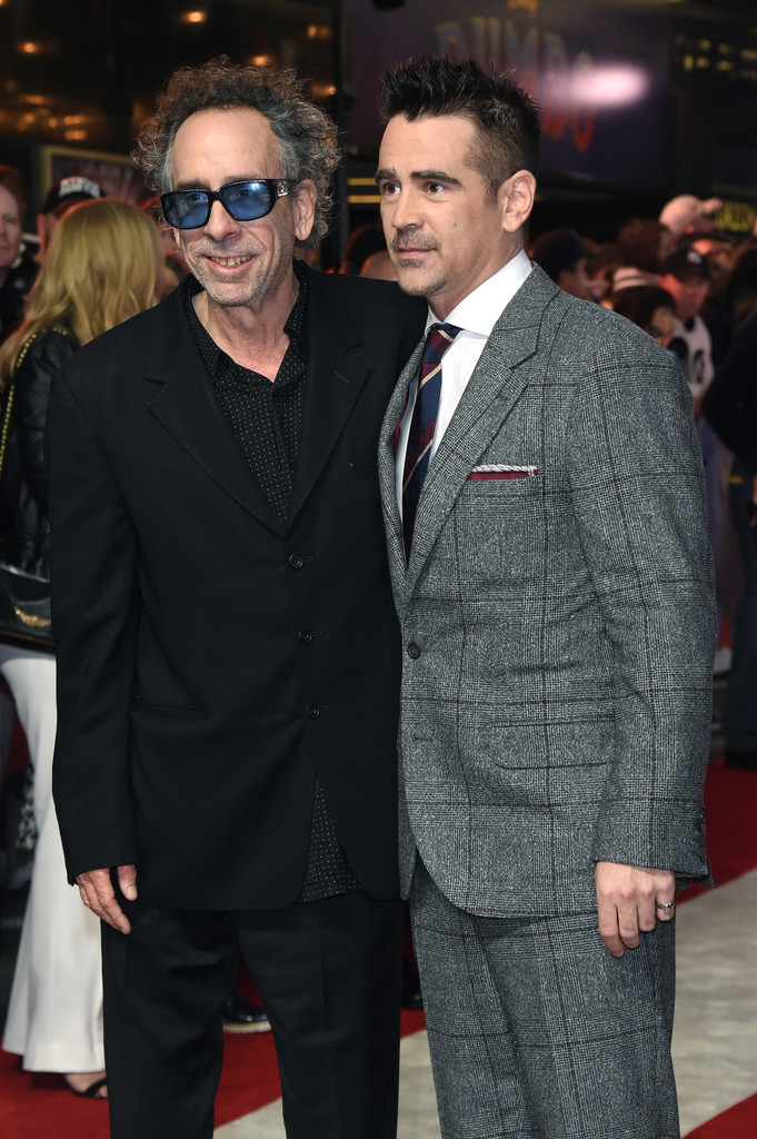 Tim Burton Disney Dumbo European Premiere London